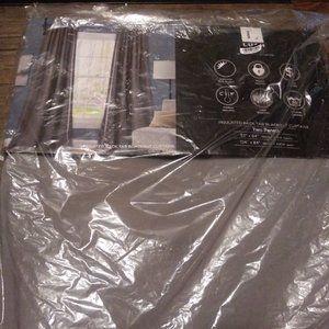Lush Decor Accents - Lush decor blackout curtains dark grey